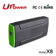 5V/12V/16V/19V DC output lipo battery multi-funcftion car jump starter portable auto power bank 13600mA