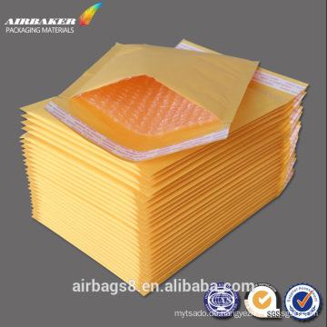 Maßgeschneiderte Großhandel braun Kraft Papierumschläge Umschlag billige Blase
