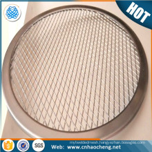 Hot sale factory price square shape stainless steel pizza screen / bbq grill pan mesh