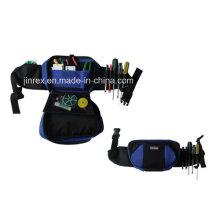 Bolsa de herramientas funcional y plegable cintura con solapa