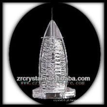 Modelo de construção de cristal maravilhoso H049