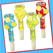 Funny Kids Fan Toy with Sweet Candy Tube