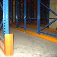 Unidad de estantería de palets de almacén de alta densidad en estanterías de almacenamiento en frío