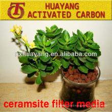 light and heavy ceramsite filter media