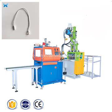 Plaggförsegling String Hang Tag Injection Molding Machine