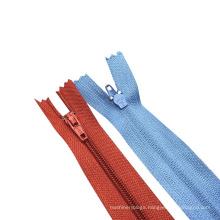 Quality good No.3 No.5 No.7 No.8 nylon cheap zippers