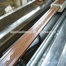WPC Madeira (casca de arroz / palha / madeira) plástico (PP / PE / PVC) máquina composta / WPC máquina / wpc decking machine