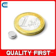 Fabricado en China Fabricante y fábrica $ Proveedor Imán permanente de neodimio de disco de alta calidad