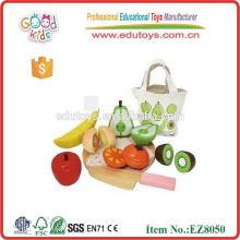 Jouets de coupe de fruits magnétiques pour enfants