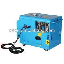 2013 Nuevo tipo silencioso del generador de soldadura de la CC 190A