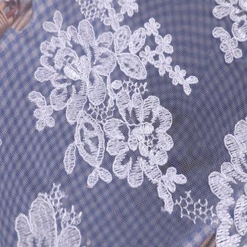 Мода европейское свадебное свадебное платье шнур вышивка ткань
