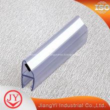 Sello de caucho de la puerta de PVC de ducha imán