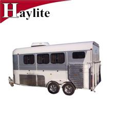 Remorque à chevaux 3 et 4 cols de cygne avec cuisine et douche Remorque à chevaux 3 et 4 cols de cygne avec cuisine et douche