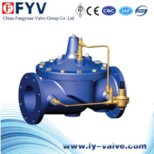 Válvula de control de reducción de presión automática