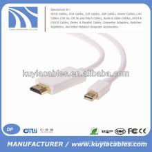 6FT / 1.8M Mini DP vers le câble HDMI pour Macbook