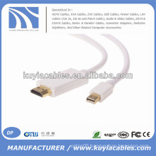 6FT/1.8M Mini DP to HDMI cable for Macbook