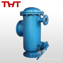 cast iron automatic sewage filter with stainless steel screen