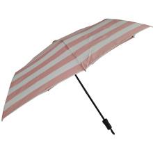 ladies three foldable hand open wholesale mini pink umbrella