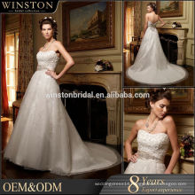 100% Real Photos Custom Made rainbow wedding dresses