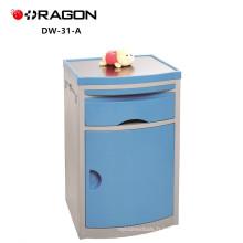 Cabinet de chevet médical d'acier inoxydable utilisé par meubles d'hôpital de DW-31-A