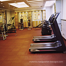 Cheap 2017 Hot Sale Rubber Intelock Type Gym Floor