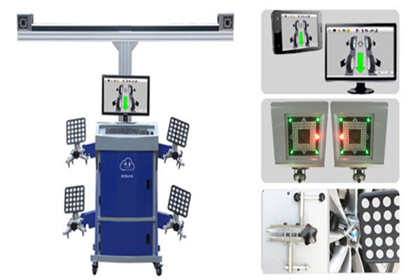 3D wheel aligner system supply