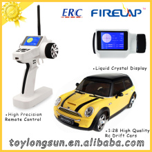 RC Carro 1/28 Escala Elétrica RC Car 2.4GHz Controle