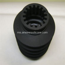 Rubber Spacer Black Silicone Rubber Bushing yang disesuaikan