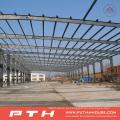 Armazém de estrutura de aço de design personalizado com fácil instalação