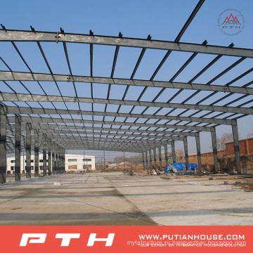 Подгонянная Конструкция Пакгауза стальной структуры с легкой установкой