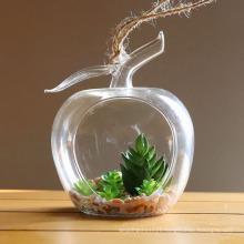 DIY Wedding Home Decor Micro Landscape Terrarium ,Clear Hanging Glass Vase Plants Flower Container