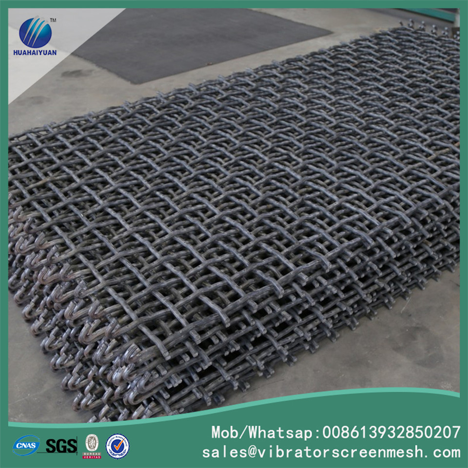 Hook Spring Steel Wire Mesh