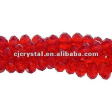 Fancy Siam Rondelle Glass Beads Wholesales