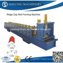 Machine à former des rouleaux en tôle ondulée en acier inoxydable