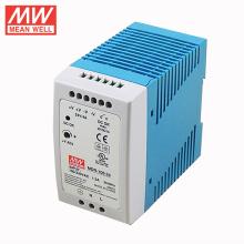 fonte de alimentação 4a MDR-100-24 do interruptor do trilho do ruído do meanwell 24v