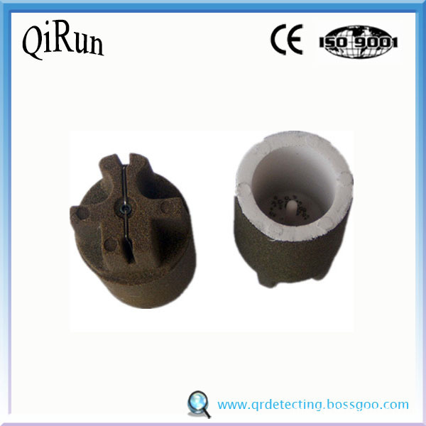 CE-CUP round carbon for foundry