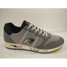 Anti-Microbial Tricô Casual Running Shoes para Homens