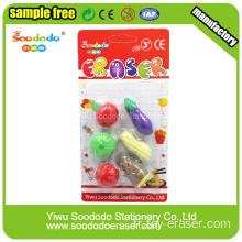 3D Children Fancy TPR Eraser