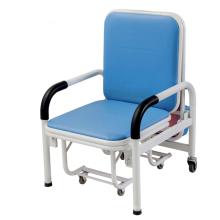 Silla de acompañamiento plegable para pacientes de hospital