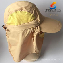 2015 new Outdoor sports Hiking Camping Fishing Uv protection Hat Caps Face Mask Quick-drying Fisherman Adjustable Hats