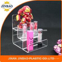 Publicidad de estante de exhibición del soporte de acrílico de Jinbao