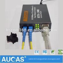 Computer Ethernet Media Converters China Market Digital TV Signal Voltages Fiber Media Converter Transmission 10/100m