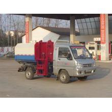 Foton 6CBM Gasoline Engine Garbage Dump Truck