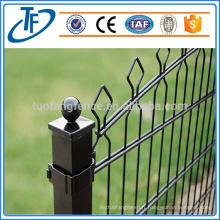 Clôture de maille soudée sécurisée à double fil