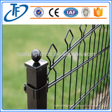 Anping factory prices ! High Quality Double Wire Secure Welded Mesh Fence
