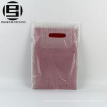 Barato cortado sacos de perfurador de plástico boutique de hdpe