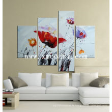 Peinture à l'huile de fleur moderne (new-060)