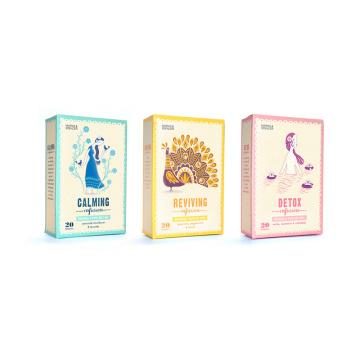 Pop Design Custom Tea Gift Boxes