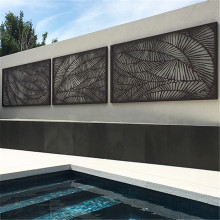 Laser Cut Metal Screen For Garden
