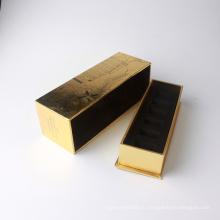 Смешные шаблон лак для ногтей упаковка бумажная коробка с крышкой